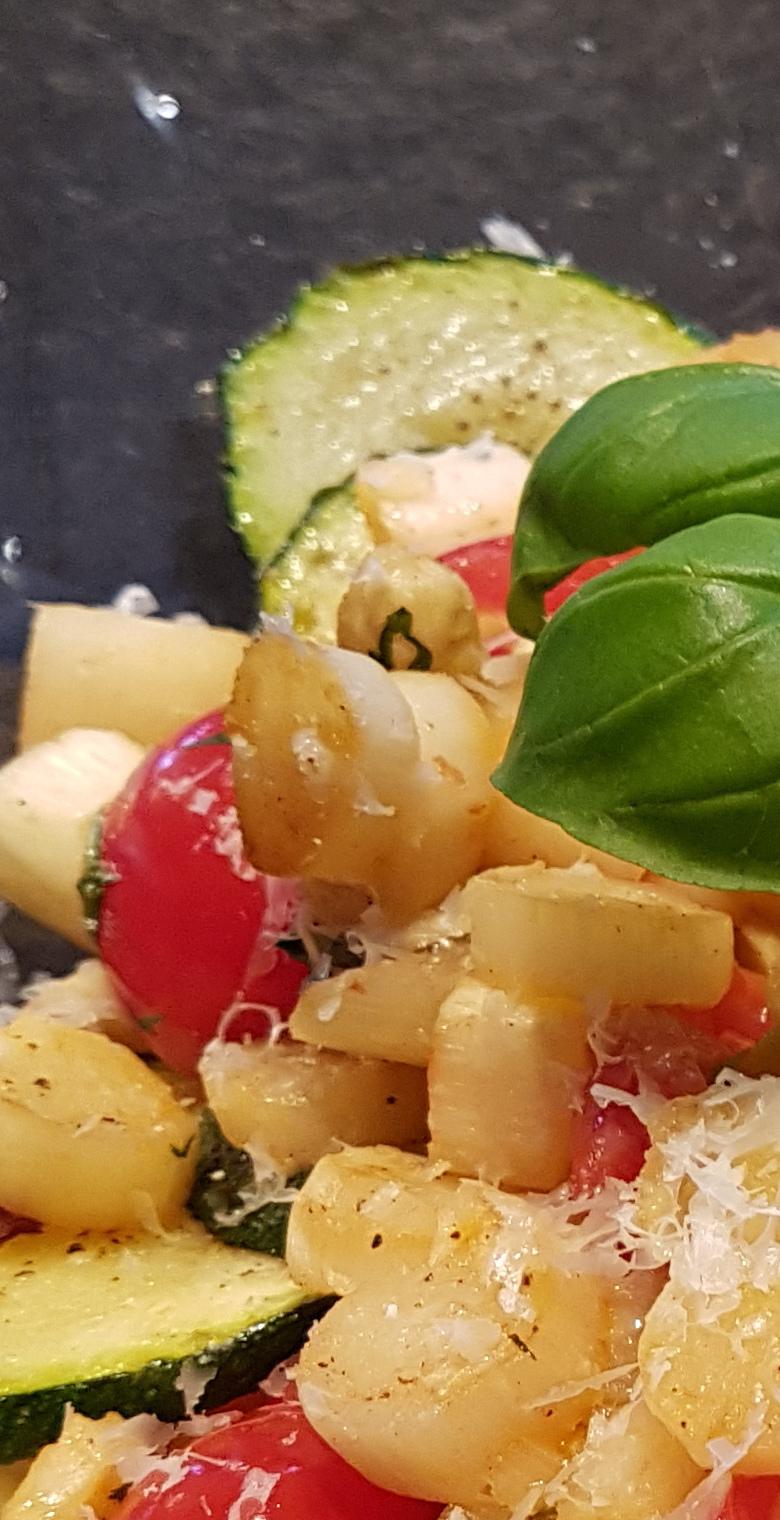 Italienischer Spargelsalat übersicht neu